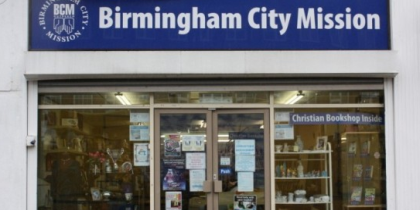 Birmingham City Mission Bookshop