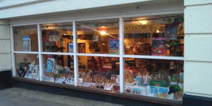 Vine Trust Bookshop Picture