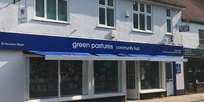 Green Pastures Front Shop